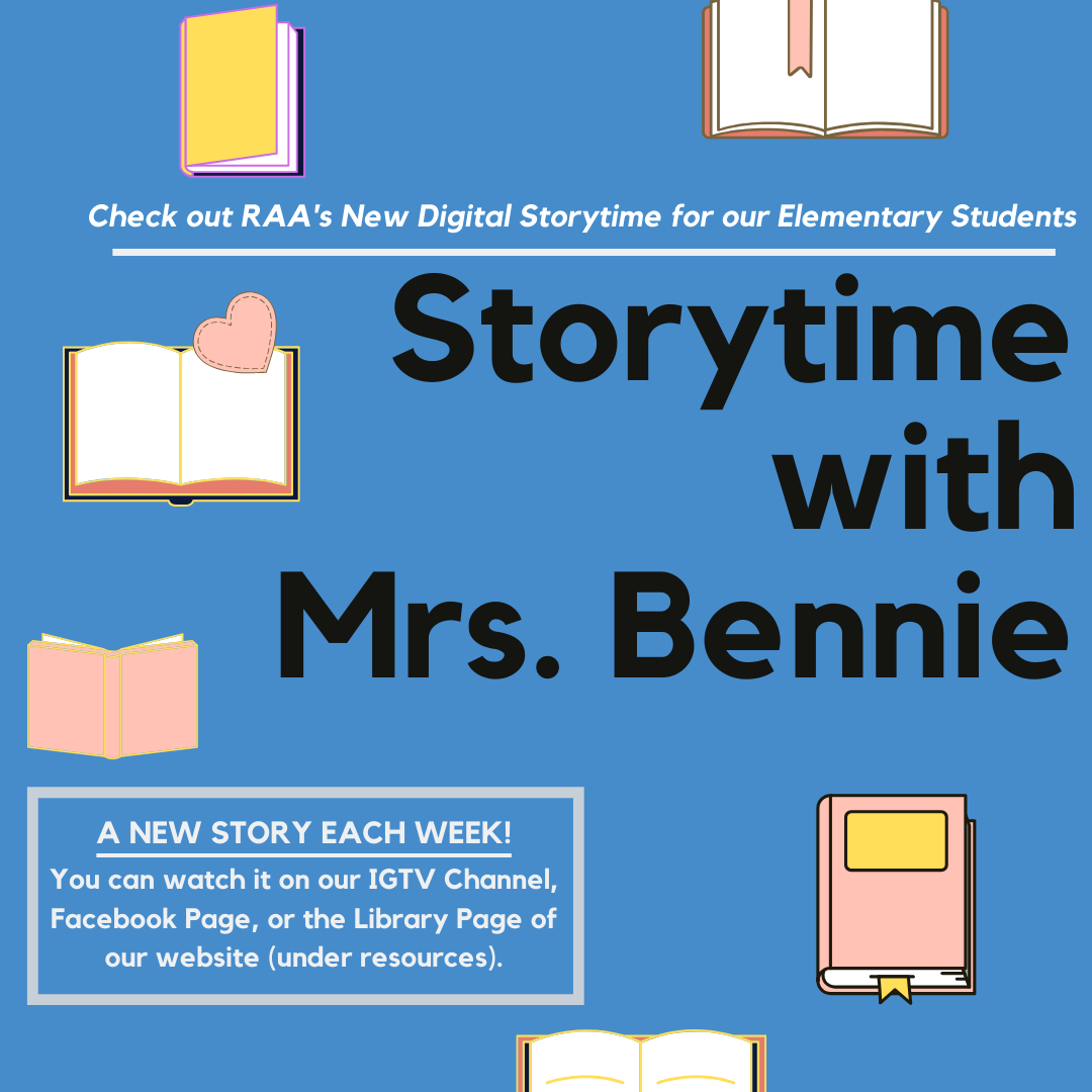 Digital Storytime with Mrs. Bennie